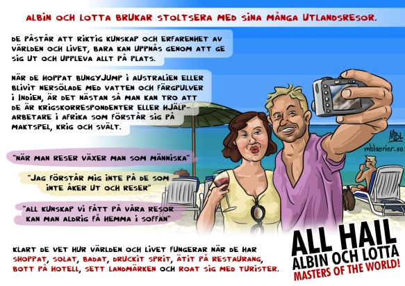 Albin och Lotta, Masters of the World