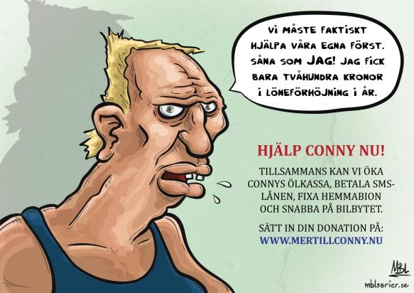 Hjälp Conny