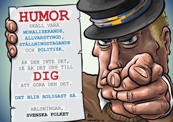 Humor enligt svensken