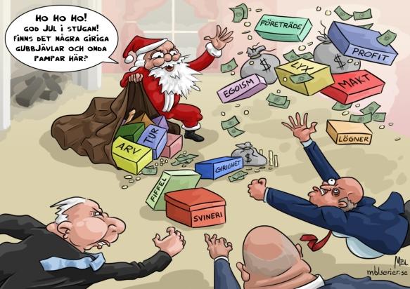 Julklappsutdelning
