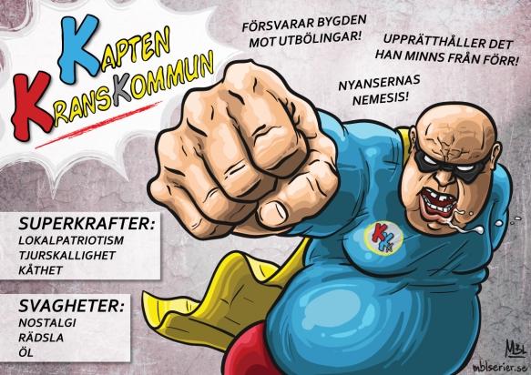 Kapten Kranskommun