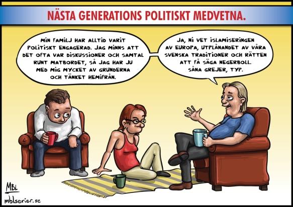 Nästa generations politiskt medvetna