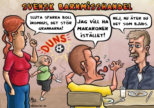 Svensk barnmisshandel